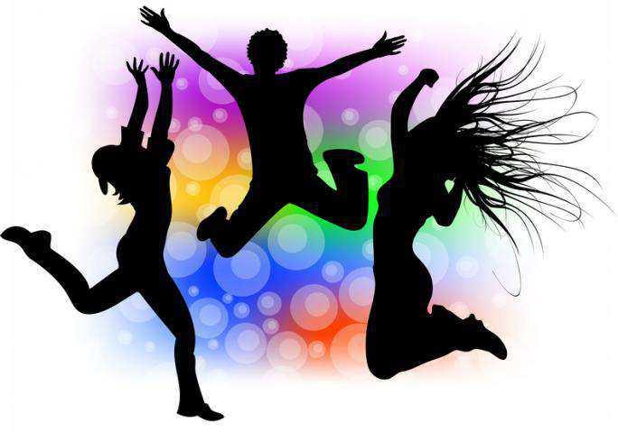danse moderne  hip hop dance silhouette vector belly dancer silhouette vector