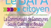La Communauté de communes Sioule, Colettes et Bouble (CCSCB), en partenariat avec le Centre Social Rural d'Ebreuil, met en place une action citoyenne par le biais d'un accompagnement financier à […]