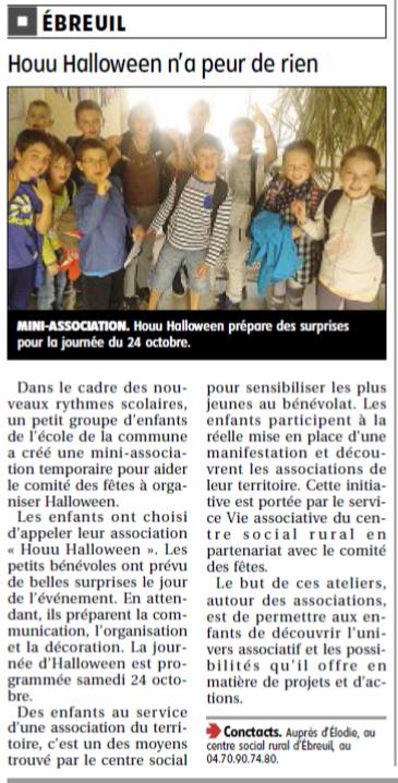 VIE ASSO-TAP - Halloween Ebreuil - prépa