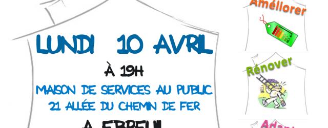 L'association Viva Sioule s'associe à la cellule habitat-énergie du Conseil Départemental, à la Communauté de Communes St Pourçain Sioule Limagne et à la maison de Services au public d'Ebreuil pour […]