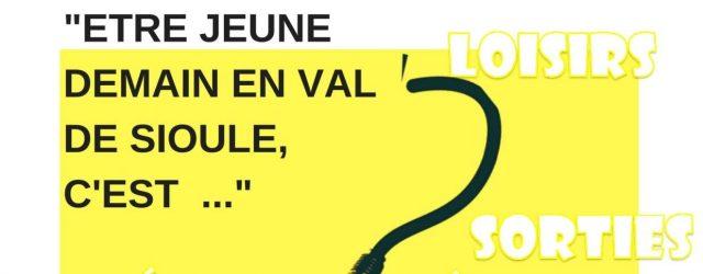 L'Association VIVA Sioule Centre Social organise un temps d'échange et de consultation sur la thématique « Être jeune demain en Val de Sioule, c'est…» En effet,en vue du renouvellement du […]