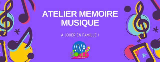 Le lundi après-midi c'est Atelier Mémoire au Centre Social ! Nous on adore garder nos cerveaux jeunes et aujourd'hui on vous propose un atelier mémoire dédié à tous et toutes, […]