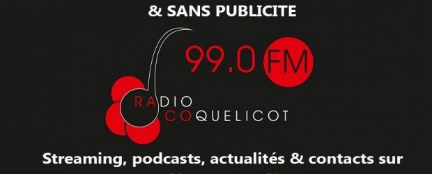 """""""Radio Coquelicot 99 FM, votre radio du Val de Sioule"""" Radio Coquelicot est une radio associative de proximité, non commerciale, animée par les gens du coin, pour les gens du […]"""