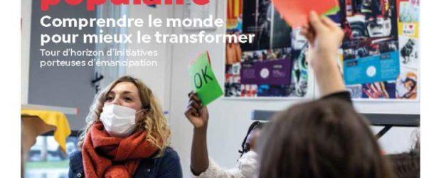 """Dans le dossier """" Éducation populaire : Comprendre le monde pour mieux le transformer """"trouvez l'article pages 6-7 qui relate notre partenariat avec le collège de Bellenaves dans le projet […]"""